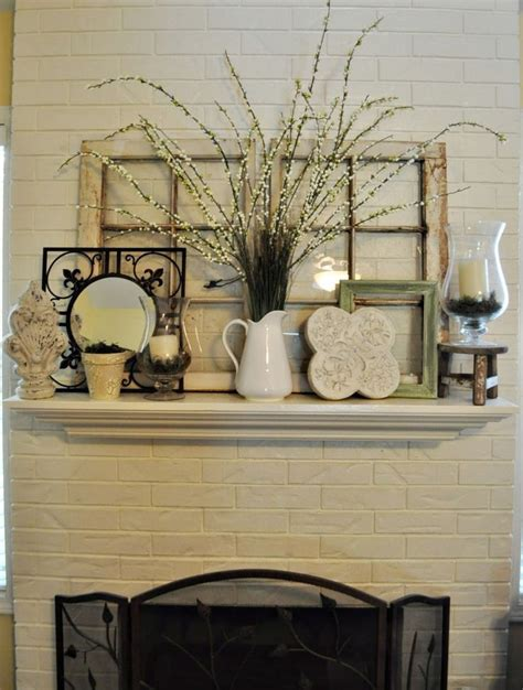 mantle decor 1000 ideas about brick fireplace decor on pinterest red