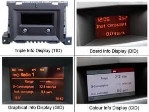 Vauxhall Trip Computer Board Computer Pecky The Tech2 Guru