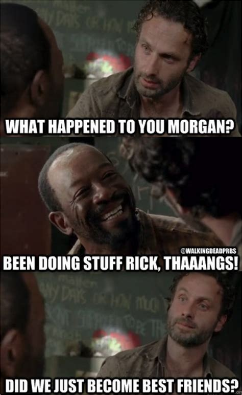 Stuff And Things Meme - 42 more hilarious walking dead memes from season 3 from
