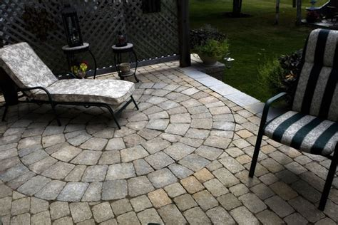 raised patio construction work features