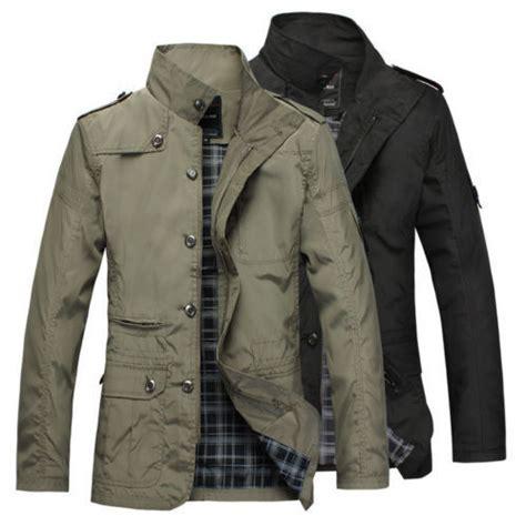 Jaket Parasut Fox new mens jacket fashion warm winter casual coat overcoat
