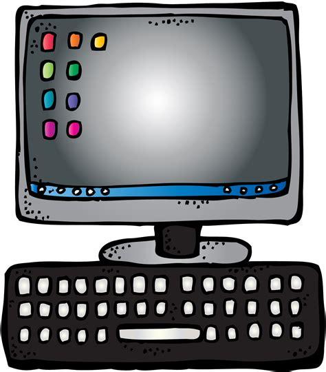 Melonheadz Computer Clipart   ClipartXtras