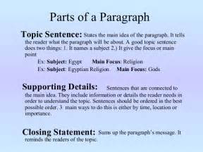 Exles Of Topic Sentences For An Essay by Essay Topic Sentence Exles Exles Of Topic Sentences And How To Write Them Essay