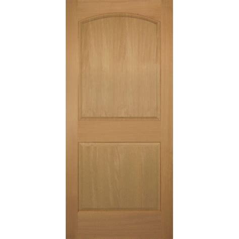 Hemlock Interior Doors Builder S Choice 36 In X 80 In 2 Panel Square Top Solid Hemlock Single Prehung Interior