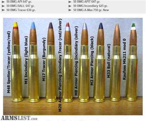 50 Bmg Bullets For Sale by Armslist For Sale 50 Bmg Ammo