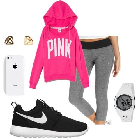 Oreo Sweater Pink quot roshe pink quot by peytonicholee on polyvore lya sweatshirt with my black and oreo