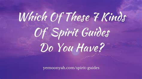 kinds  spirit guides