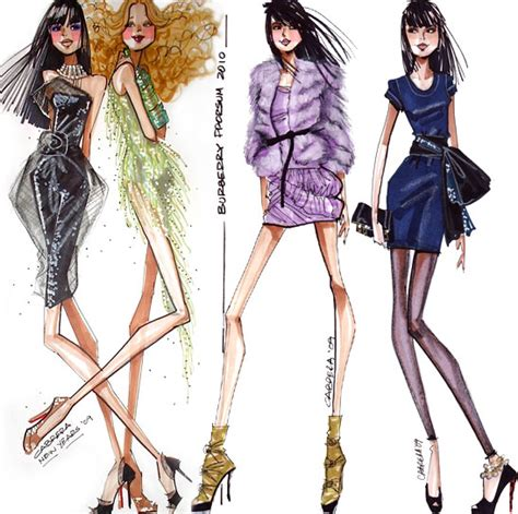 Gorgeous Fashion Illustrations by The Magic Of Fashion Illustrations My Favorite