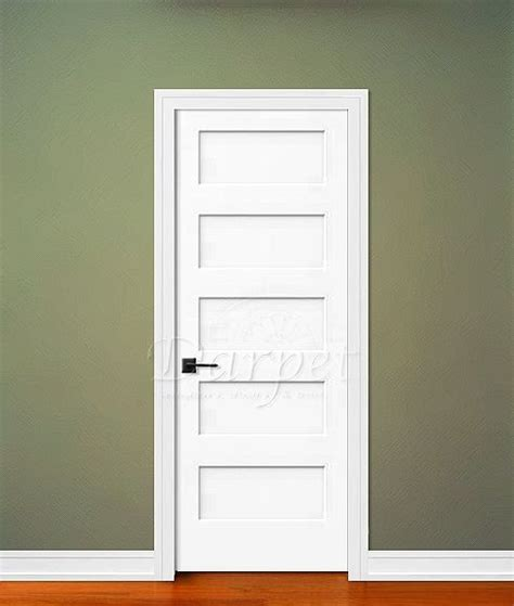 5 Panel Interior Door 5 Panel Flat Door Conmore From Craftmaster Darpet