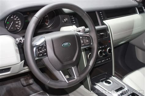 2015 land rover sport interior land rover discovery sport at the 2015 detroit auto show