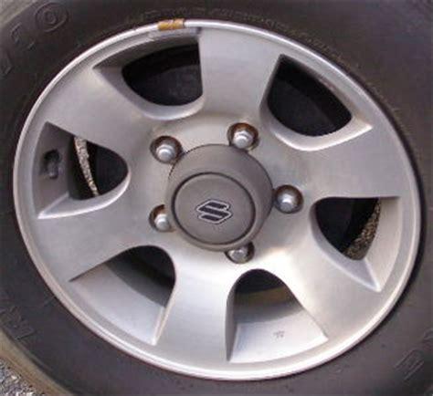 Suzuki Sidekick Wheels H 72658 Suzuki Sidekick 15x5 5 Dished 6 Spoke W O 4x4