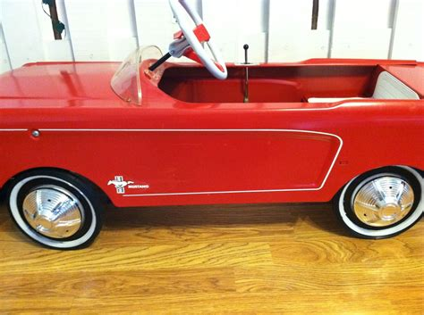 1965 mustang pedal car collectors weekly