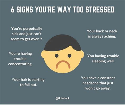 Detox When You Re Constantly Getting Sick by 6 Signs You Re Way Stressed You Re Perpetually Your