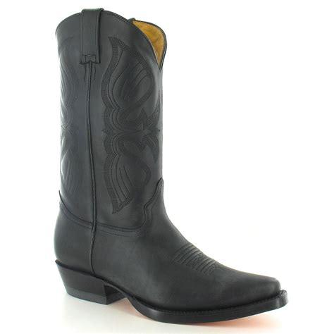mens mid calf boots grinders louisiana mens classic leather mid calf cowboy