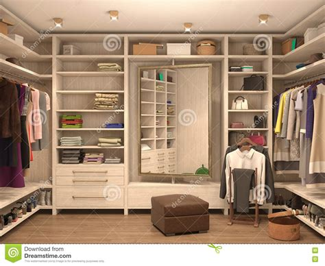 changing rooms interior designers white dressing room interior of a modern house stock illustration illustration of