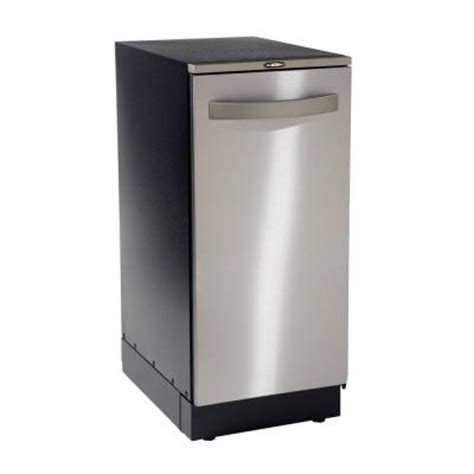 trash compactors for home broan elite xe automatic 15 in built in or freestanding