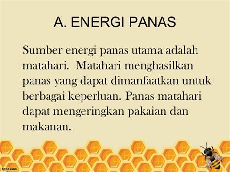 materi sumber energi