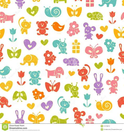 Butterflies Wall Stickers baby seamless wallpaper stock photography image 31378672