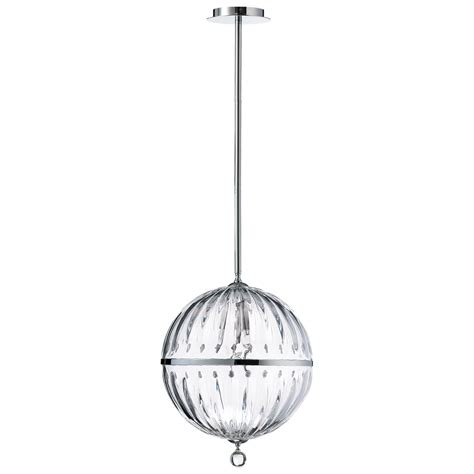 Cyan Design Janus Pendant Lights Janus Large Clear Globe Pendant Light By Cyan Design