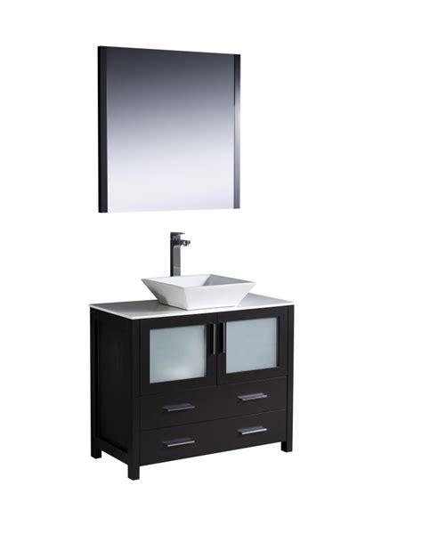 36 Inch Bathroom Vanity With Sink 36 Inch Vessel Sink Bathroom Vanity In Espresso