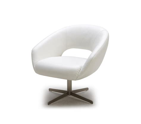 Modern Swivel Lounge Chair by Dreamfurniture Divani Casa A796 Modern Leather