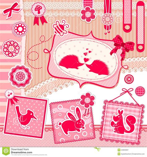 designs for pictures cute designs royalty free stock photography image 24603397