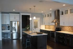 houzz black kitchen cabinets mid continent cabinetry contemporary kitchen grand