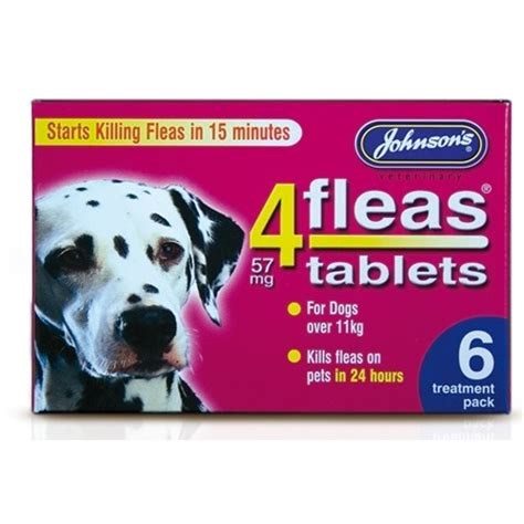 best flea pill for dogs treatments johnsons 4 fleas flea tablets for dogs 11kg