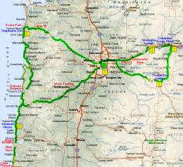 show me a map of oregon oregon maps and accommodations