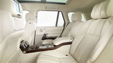 white land rover interior white leather interior range rover wallpapers and images