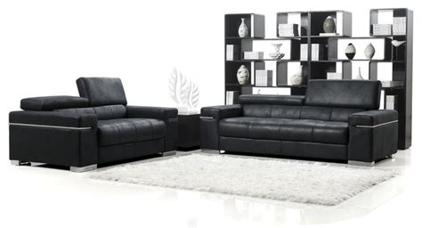Black Suede Sectional Sofa Black Angelo Suede Sofa With Loveseat Contemporary Sectional Sofas By Zuri Furniture