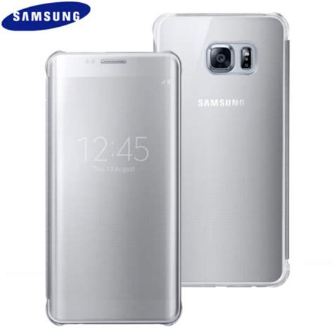 Sarung Armor Samsung J5 official samsung galaxy s6 edge plus clear view cover