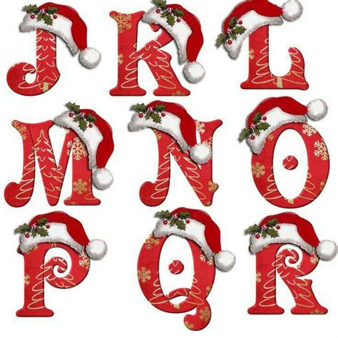 printable christmas alphabet 324 best christmas alphabet no images on pinterest