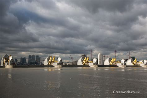 thames barrier from greenwich thames barrier closes to protect london from flooding