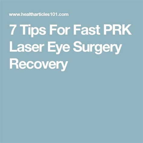 Tips For A Successful Surgical Recovery by Best 25 Laser Eye Surgery Ideas On Lasik Eye