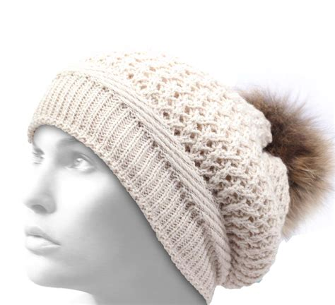 Pompom Bonnet bonnet pompon femme bonnet karibu