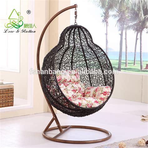 hanging indoor rattan swing chair outdoor garden rattan chair patio rattan hanging chair