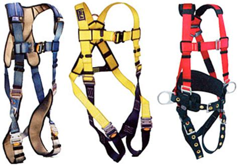 types of harnesses impa 331104 safety harness type