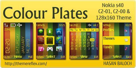 beautiful themes for nokia c2 00 colour plates theme for nokia c1 01 c2 00 themereflex