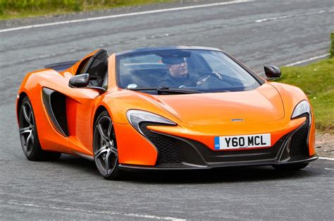Cabin Styles by Mclaren 650s Spider Review 2017 Autocar