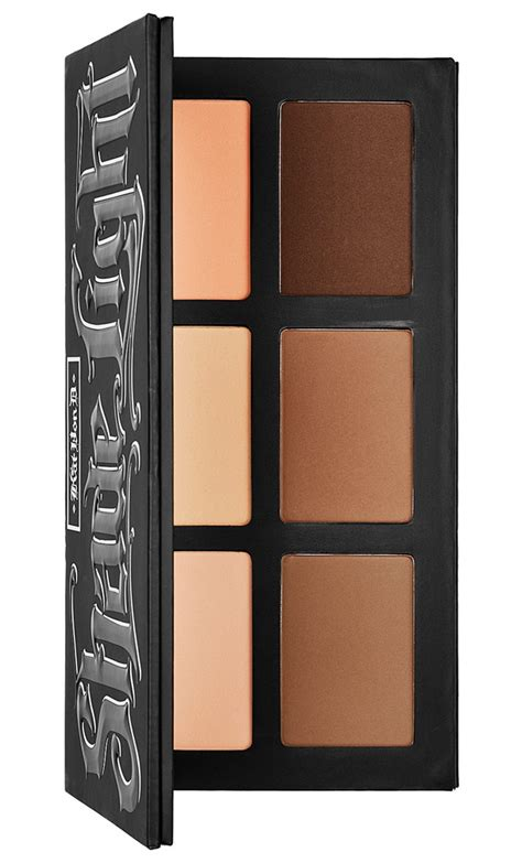shade and light refillable palette kat von d refillable shade light face contour palette