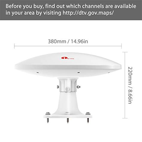 1byone lified rv antenna with omni directional 360 176 import it all