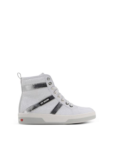 High By Moschino by Moschino Sneakers In White Lyst