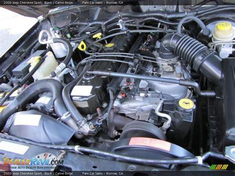 Jeep Inline 6 Engine 2000 Jeep Sport 4 0 Liter Ohv 12 Valve Inline 6