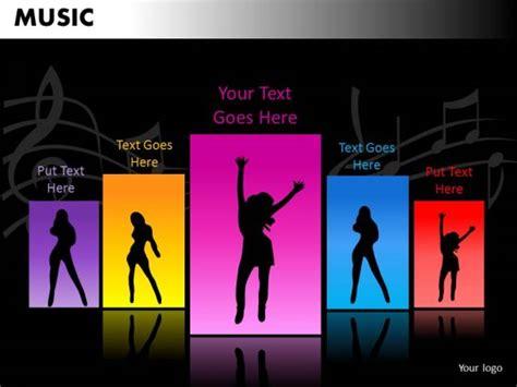 templates powerpoint dance dance music powerpoint templates editable ppt slides