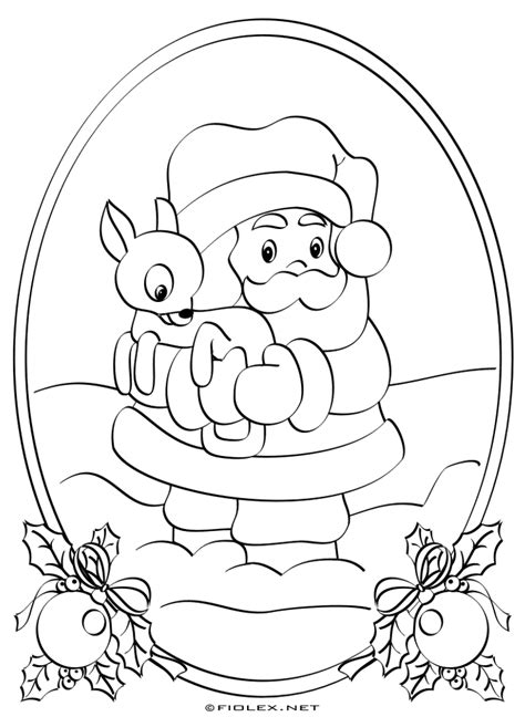 santa claus coloring page pdf fiolex free image gallery santa claus coloring template