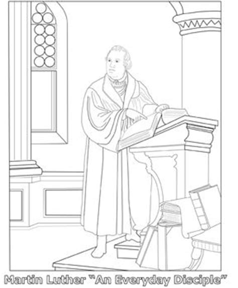martin luther coloring page homeschool language arts