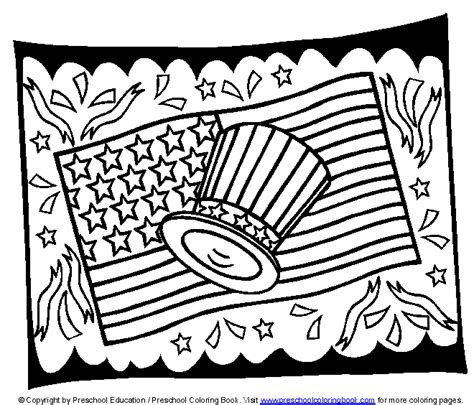 Www Preschoolcoloringbook Com 4th Of July Flag Day Flag Day Coloring Pages Printable