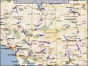 arizona and utah map map of california nevada and utah