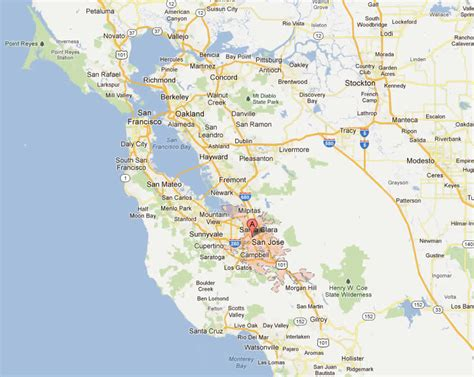 san jose map san jose map pictures to pin on pinsdaddy